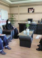 دیدارمدیرمخابرات منطقه کرمانشاه بامدیرکل جدید سازمان تامین اجتماعی استان