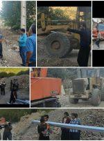 چاه آب روستای گلال پاوه با موفقیت تجهیز و راه اندازی گردید
