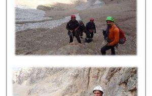 گزارش کامل و هیجان انگیز از گشایش مسیر ی جدید توسط صخره نوردان افتخار آفرین کرمانشاهی