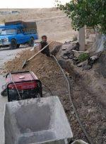 توسعه شبکه کابل در روستاهای شهرستان ثلاث باباجانی دراستان کرمانشاه